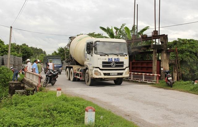 Cầu Đồng Tràng (xã Quang Phục), nơi xảy ra sự việc. Ảnh: Đ.Tùy