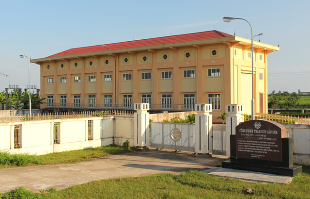 Trạm bơm Cầu Dừa, nơi xảy ra sự việc thương tâm. Ảnh: Đ.Tùy