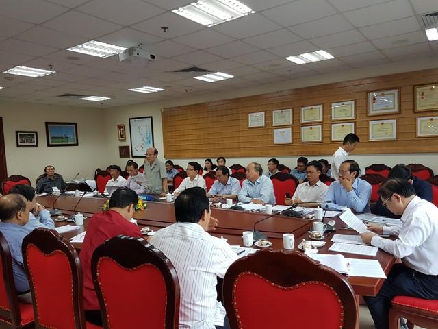 Buổi họp của Ủy ban KH, CN&MT Quốc hội với các bên liên quan trong vụ tàu PPC. (ảnh: HC)