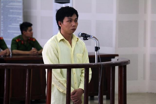 Bị Cáo Mạc Văn Nhân tại phiên tòa. Ảnh: Tâm Trí