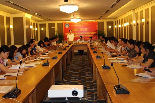 Hội nghị sơ kết công tác DS-KHHGĐ Quảng Ninh. Ảnh: CTV