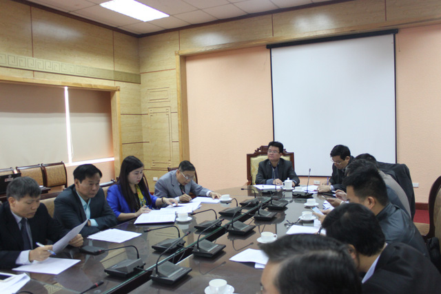 Tại buổi họp, 3 địa phương đã báo cáo tiến độ việc khám và lập hồ sơ quản lý sức khỏe cá nhân và đề xuất những kiến nghị với Bộ Y tế.