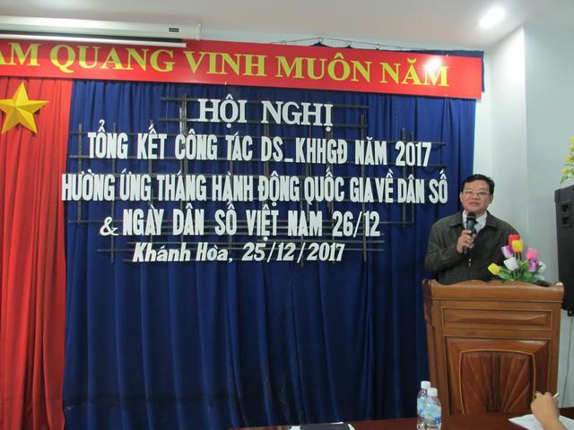 BS CKII Nguyễn Đình Thoan, Phó Giám đốc Sở Y tế chỉ đạo hội nghị.