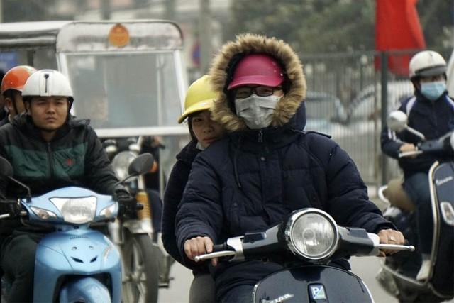 Không khí lạnh tăng cường, Bắc và Trung bộ mưa rét hai ngày cuối năm