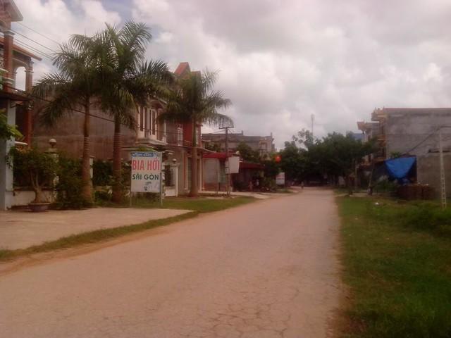 Một góc xã Ngọc Vân, Tân Yên, Bắc Giang, từng là hang ổ của những tên trùm ma túy khét tiếng. Ảnh:V.SĨ