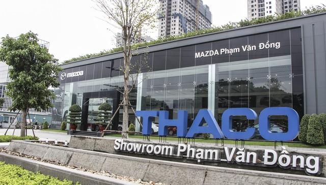 Showroom Mazda Phạm Văn Đồng.