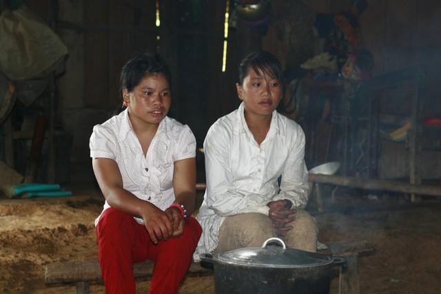 Nhiều cô gái trẻ tại các xã vùng biên là mục tiêu của những kẻ buôn người. Ảnh: Hiếu Anh