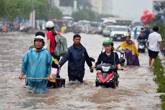 Từ ngày 17 - 20/6 Miền Bắc nhiều nơi có mưa dông, nguy cơ xảy ra lũ tại một số tỉnh miền núi. Ảnh: TL