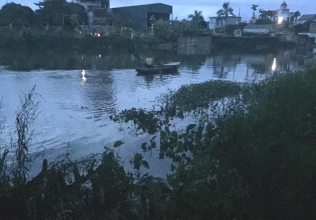 Khu vực sông Cửa An đoạn gần Cầu Ràm, nơi phát hiện thi thể anh Tuyến