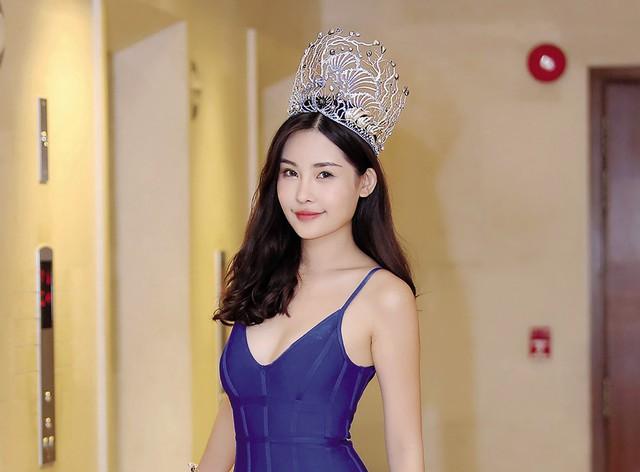 Hoa hậu Đại dương Lê Âu Ngân Anh. Ảnh: TL