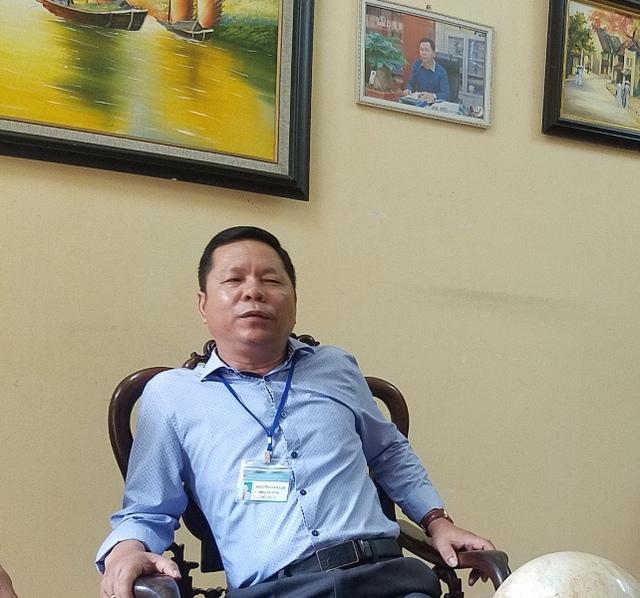 Hiệu trưởng Trường tiểu học Vĩnh Quỳnh cho biết nội dung tố cáo là sai sự thật.