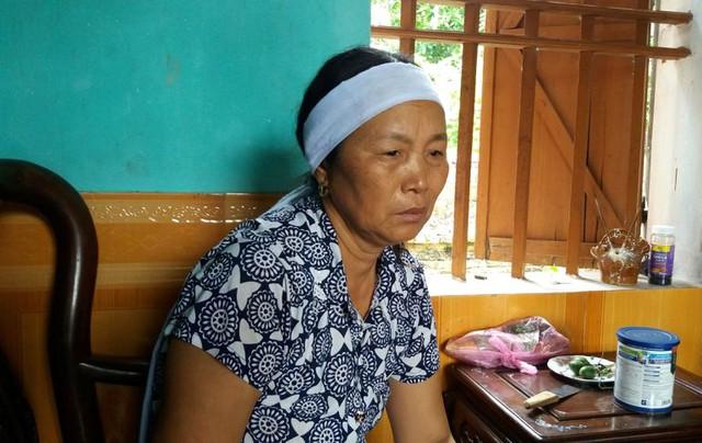 Bà Lụa, vợ nạn nhân mong muốn sự việc được làm minh bạch, công bằng. Ảnh: Đ.Tuỳ