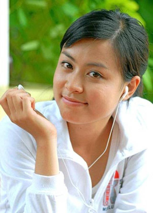 Hoàng Thùy Linh thời kỳ học sinh.
