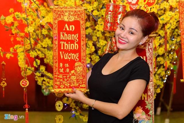 Lê Giang có cách diễn hài tự nhiên và duyên dáng. Ảnh: Nguyễn Bá Ngọc.
