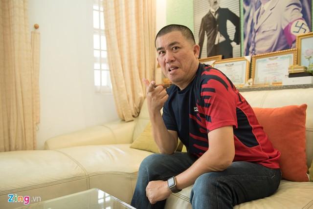 Nhật Cường sống xa vợ con 13 năm qua. Ảnh: Bá Ngọc.