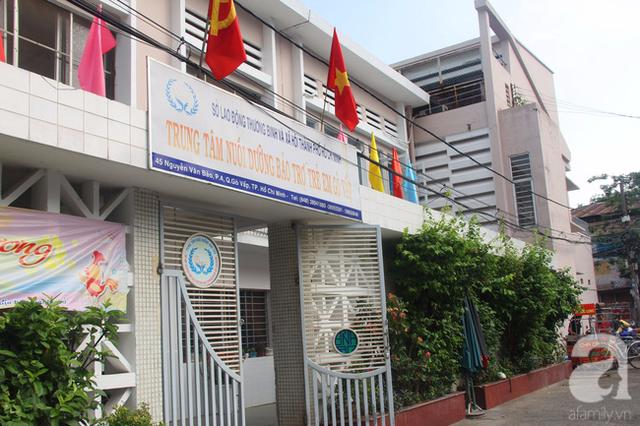 Trung tâm nuôi dưỡng bảo trợ trẻ em Gò Vấp, nơi tiếp nhận hai bé trai khoảng 3 và 5 tuổi đi lang thang lúc nửa đêm tìm bố mẹ ngày 16/2