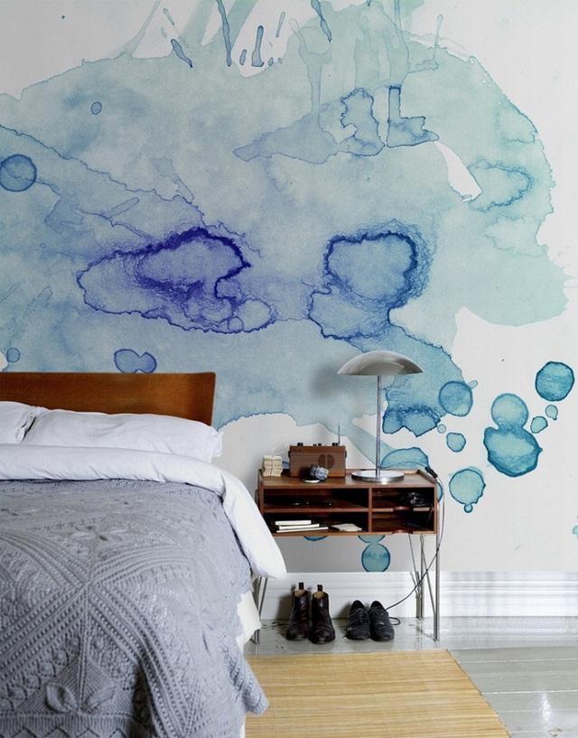 Độc đáo, cá tính và mới mẻ là những gì có thể dùng để mô tả về phong cách sơn tường này.