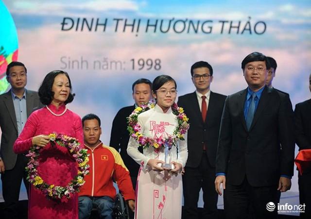 Đinh Thị Hương Thảo - chủ nhân 2 HCV Olympic quốc tế 2 năm liên tiếp.