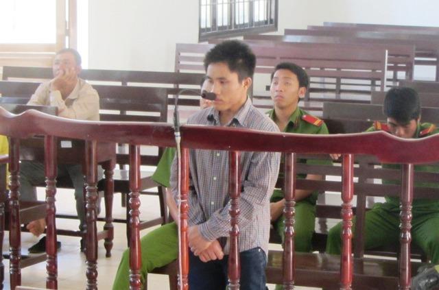 Chân dung người cha giết con ruột trong cơn nóng giận ở Ninh Thuận. Ảnh Thanh Niên
