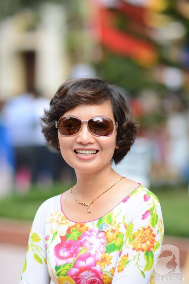 Chị Nguyễn Hằng, chủ nhân của khu vườn rộng 3 ha.