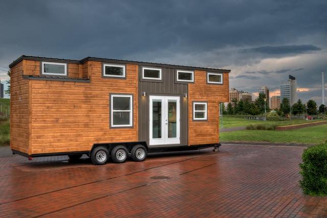 Ngôi nhà di động này có thiết kế nhỏ gọn.