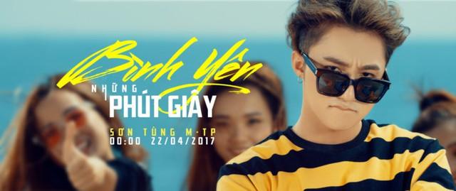Poster sản phẩm âm nhạc sắp ra mắt của Sơn Tùng M-TP.