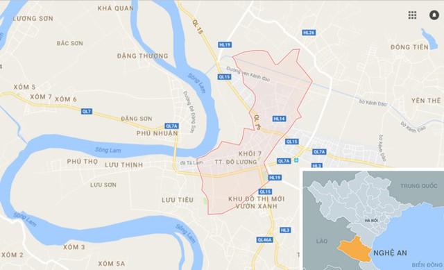 Trong một lần vào nhà nghỉ ở thị trấn Đô Lương, Tuấn đã quan hệ tình dục với Hương khiến cô gái mang thai. Ảnh: Thiên Sơn.