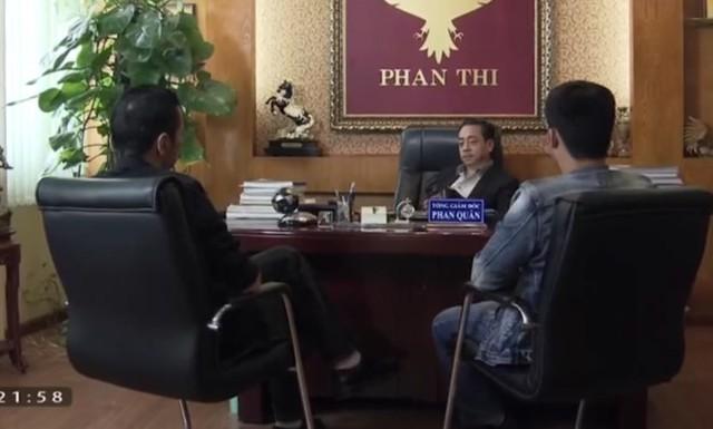 Phan Quân họp với Lương Bổng và Bảo ngậu để bàn tính kế hoạch. Ảnh: chụp màn hình.
