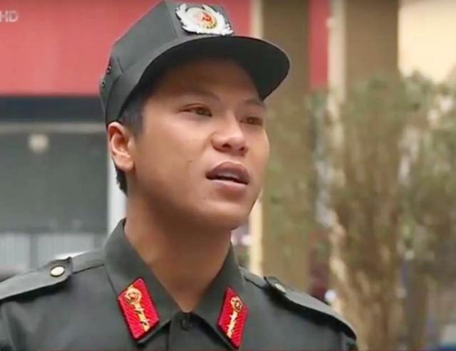 Trung úy Đinh Tiến Đông. Ảnh: VTV.