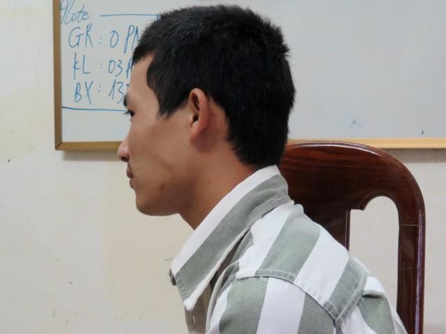 Phạm nhân Nguyễn Anh Đỏ. Ảnh: Vân Thanh.
