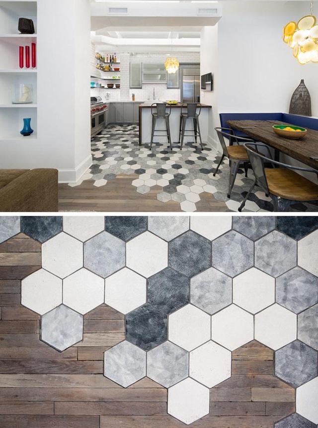 Hãy cùng bắt tay vào trang hoàng cho ngôi nhà nhỏ của bạn với những mẫu gạch lát sàn hình lục giác nào.