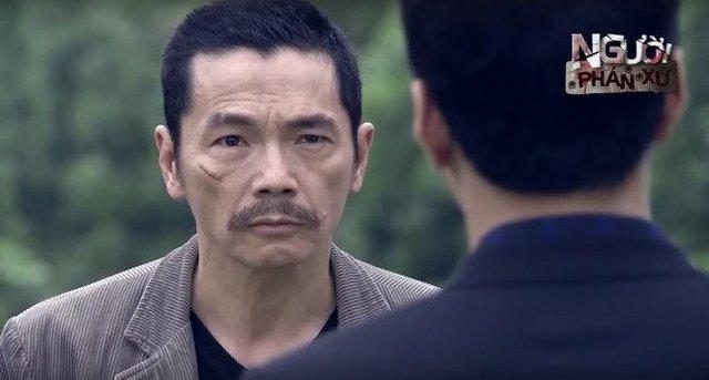 Diễn viên Trung Anh trong Người phán xử.