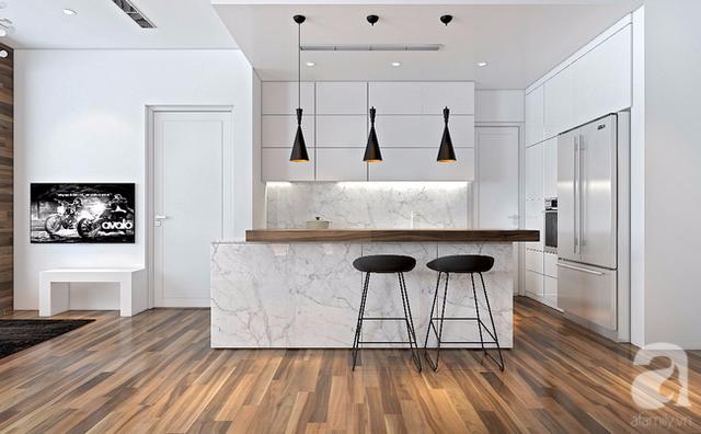 Hệ tủ bếp gỗ công nghiệp, chi tiết thiết kế tối giản tiết kiệm chi phí cho bạn.