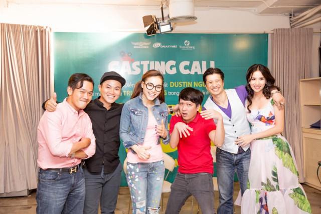 Trường Giang cùng Dustin Nguyễn mới tổ chức buổi casting cho 79810 tại TP.HCM.