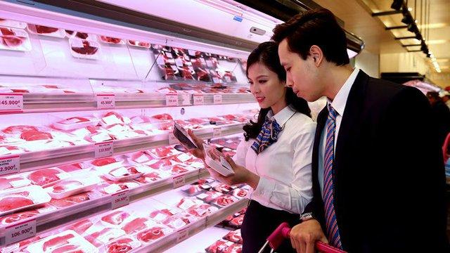 Việt Nam chi khoảng gần 2.400 tỷ đồng nhập thịt trong 4 tháng đầu năm 2017 (ảnh: Quang Phúc)
