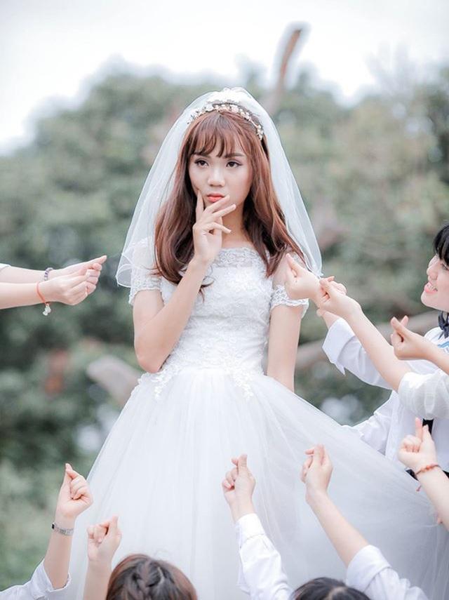 Cô dâu trong ảnh là một chàng trai?