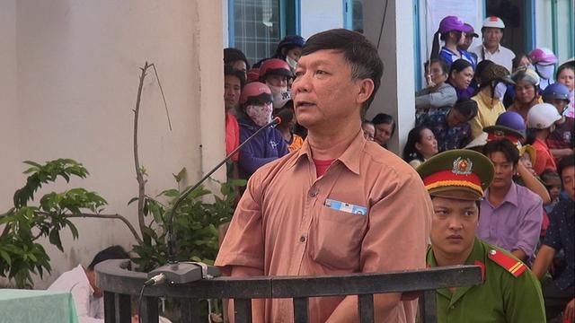 Bị cáo Lê Văn Nhường tại tòa