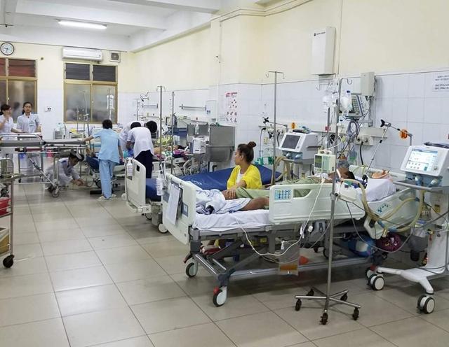 Khoa Hồi sức tích cực, Bệnh viện Đa khoa tỉnh Quảng Ninh, nơi bệnh nhân tử vong dù đã được các bác sĩ hết sức cứu chữa. Ảnh Nguyễn Quý