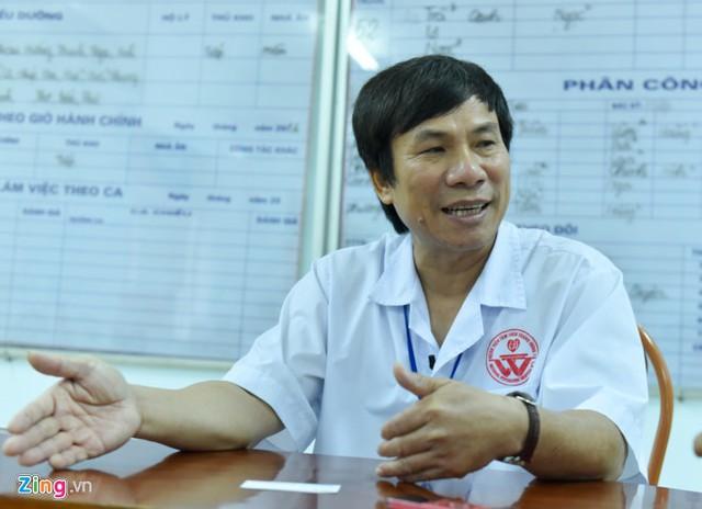 TS Tô Thanh Phương - Phó giám đốc Bệnh viện Tâm thần trung ương 1. Ảnh: Việt Hùng.