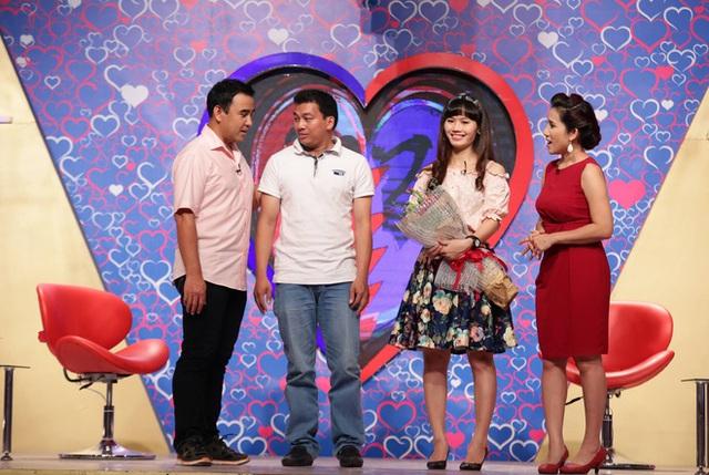 Cát Tường - Quyền Linh cùng cặp đôi Văn Tám - Trần Thủy.