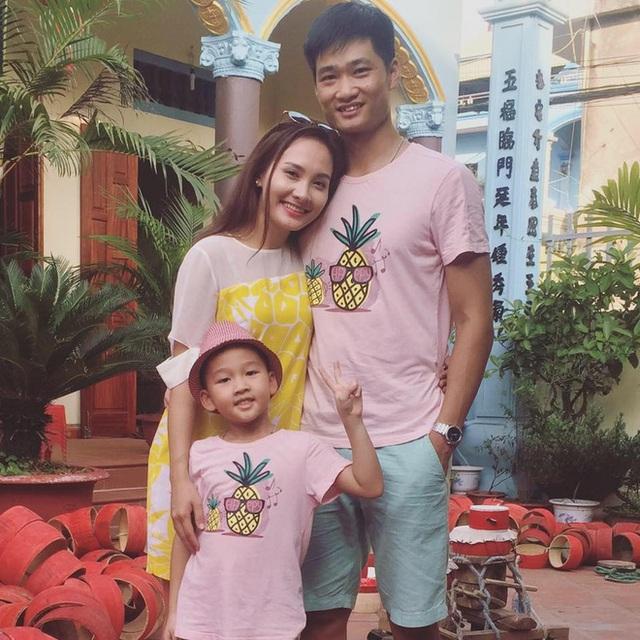 Gia đình nhỏ của Bảo Thanh.