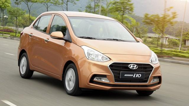 Hyundai Grand i10 2017 lắp ráp tại Việt Nam.