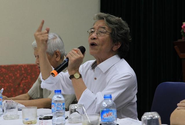 Giám đốc VCPMC nhạc sĩ Phó Đức Phương. Ảnh: N.M.Hà.