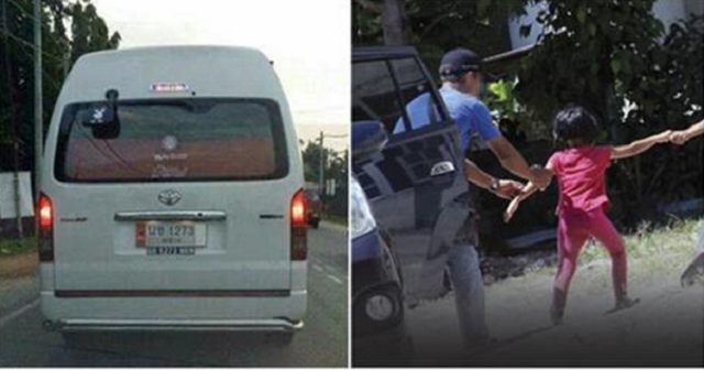 Cậu bé cho biết mình suýt bị bắt cóc lên chiếc xe màu trắng. Ảnh minh họa.