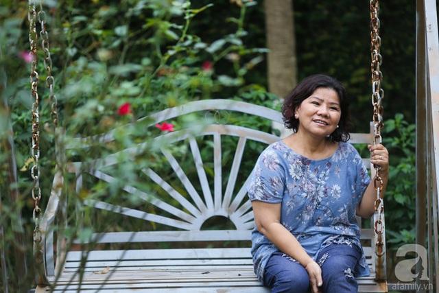 NSND Thanh Hoa sống bình yên bên ngôi nhà vườn rợp bóng cây xanh.