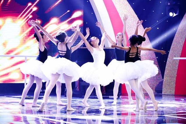 Hoàng Vân gây ấn tượng bởi vũ đạo và diễn xuất. Ảnh: Jet.