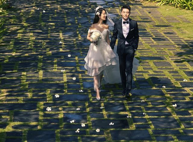 Bộ ảnh cưới chụp vội.