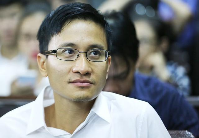 Ông Cao Toàn Mỹ trong phiên xử sơ thẩm vụ án lừa đảo chiếm đoạt tài sản. Ảnh: Quỳnh Trần.