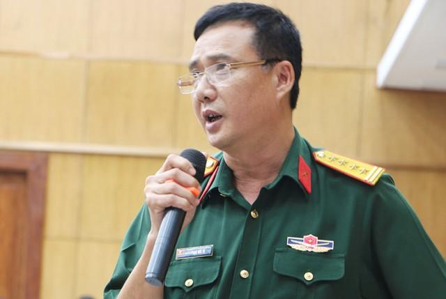 TS Phạm Đức Tú, Phó cục trưởng Cục Nhà trường, Bộ Quốc phòng. Ảnh: Quyên Quyên.