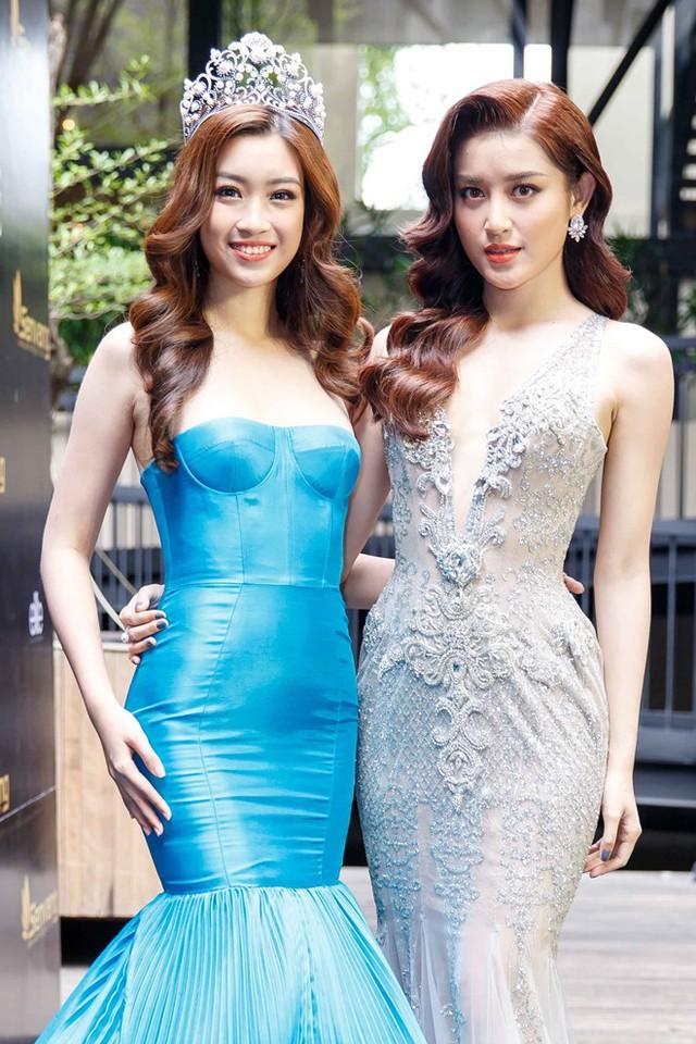 Mỹ Linh và Huyền My sẽ đại diện Việt Nam tham gia hai cuộc thi nhan sắc tầm quốc tế trong năm nay. Ảnh: Nguyễn Thành.